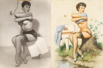 Cum aratau pozele tip pin-up din anii 40, cand nu exista Photoshop