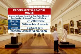 Muzeele din Capitala se redeschid de vineri. Programul celor mai importante atractii de sarbatori