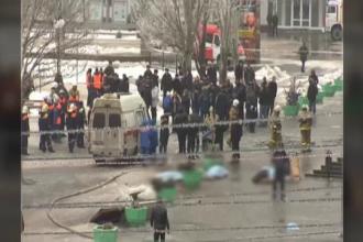 Capul femeii care a comis duminica atentatul de la Volgograd a fost descoprit la scena atacului