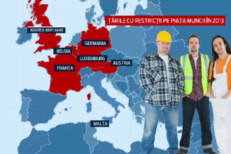 Europa ii avertizeaza pe romanii care vin la munca. Dupa 3 luni, risca expulzarea