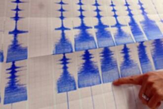 Cutremur produs miercuri dimineata, in zona Vrancea