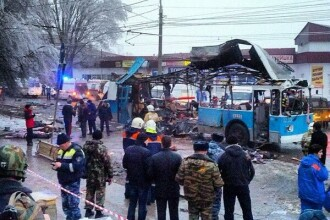 Bilantul exploziei din Volgograd, Rusia, a crescut la 12 morti si 28 de raniti. VIDEO