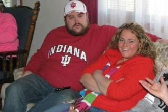 Au slabit 95 de kilograme. Povestea cuplului care a luat o decizie drastica in noaptea dintre ani