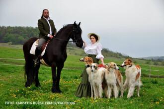 Cat de departe a impins un roman pasiunea pentru cai. Datorita lui, un sat din Ardeal a ajuns faimos in toata lumea