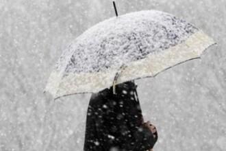 ANM: Situatia meteo se complica, iar miercuri se instaleaza iarna. -15 grade Celsius inregistrate luni, la Miercurea Ciuc