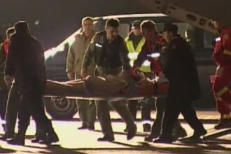 Situatia celor doi supravietuitori la zece zile de la tragicul accident de elicopter din judetul Sibiu, soldat cu 8 morti
