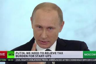 Vladimir Putin: Moscova nu se implica intr-o cursa a armelor. Nimeni nu va putea obtine superioritate militara asupra Rusiei