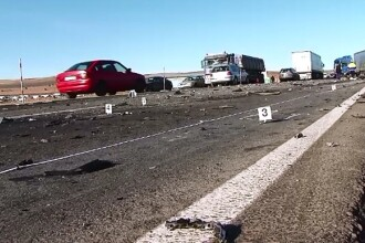 Accident grav in apropiere de Turda. Un sofer si-a pierdut viata dupa ce a intrat cu masina pe contrasens si a lovit un TIR