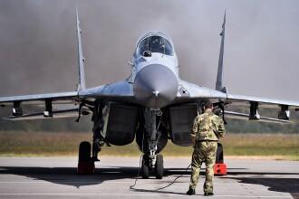Un avion de lupta s-a prabusit in apropiere de Moscova. Ambii piloti s-au catapultat si nu exista victime