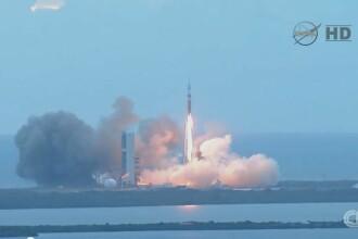 Programul NASA prin care ar putea fi transportati oameni pe Marte. Capsula Orion a fost lansata cu succes. VIDEO
