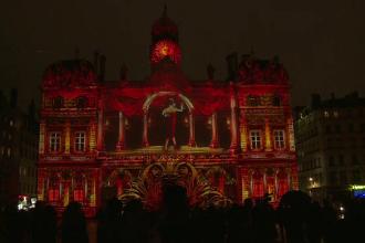 Festivalul Luminilor de la Lyon, explozie de culoare si imaginatie. Francezii au fost impresionati: