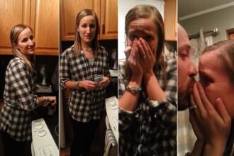 Un barbat i-a facut sotiei sale un cadou, iar ea a izbucnit imediat in lacrimi: