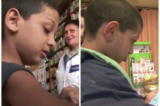 Dantes, copilul din Craiova educat de o farmacista, a ajuns in clasa a III-a. Ce spune invatatoarea baiatului despre elev
