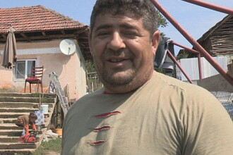 Un barbat de etnie roma afirma ca si-a facut o casa in Dolj din ajutorul social primit in Marea Britanie.