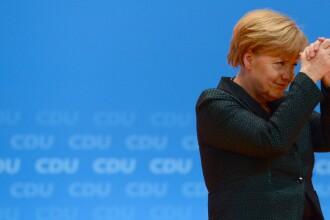 Angela Merkel a fost aleasa pentru a opta oara lider al Uniunii Crestin-Democrate