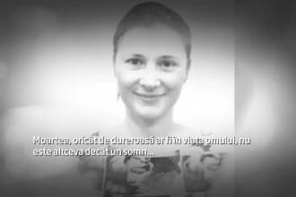 Rudele si prietenii i-au spus adio Roxanei, tanara transata de sot in SUA. Ce au spus la inmormantare cei care au cunoscut-o