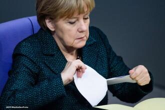 Angela Merkel a cerut intreruperea unui interviu pe care il acorda televiziunii ZDF, pentru ca i s-a facut rau