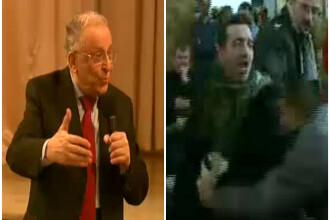 Ion Iliescu, agresat din nou. Un tanar i-a strigat