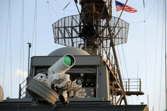 Tunul LASER pe care US Navy l-a testat cu succes. Momentul in care filmele SF mai fac un pas spre a deveni realitate