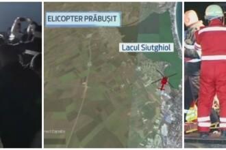Un elicopter SMURD s-a PRABUSIT in Lacul Siutghiol. Raed Arafat: Medicul resuscitat a MURIT. Pilotul, adus la mal