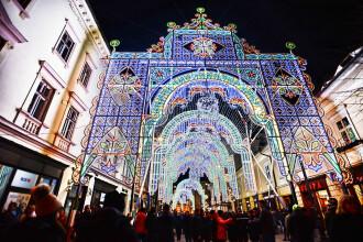 Spectacolul de Craciun din Sibiu care a impresionat turistii din intreaga lume.