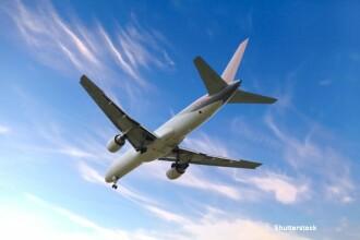 Clipe de cosmar pentru 239 de persoane aflate la bordul unui avion Boeing 767. Au survolat timp de 4 ore Canalul Manecii