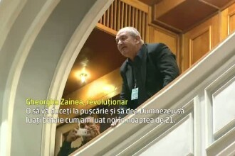 Revolutionarii au intrerupt sedinta solemna din Parlament.