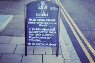 Un restaurant din Londra organizeaza o cina gratuita de Craciun. Cum isi motiveaza proprietarii generozitatea