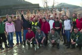 Spiritul Craciunului a atins si internetul. Romanii s-au organizat pe Facebook si au donat jucarii, haine si... porci