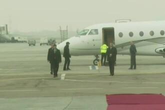 Dupa ultima sa vizita la Bruxelles ca presedinte, Traian Basescu a aterizat la Sibiu. Decizia luata de comandantul avionului