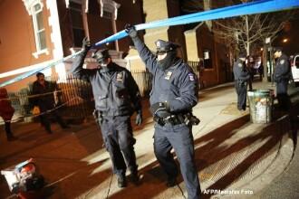 Atac sangeros in SUA: Doi politisti au fost asasinati de un barbat de 28 de ani. Crima ar avea legatura cu cazul Ferguson