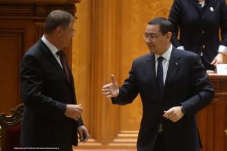 Klaus Iohannis si Victor Ponta, intalnire de lucru la Cotroceni. Care au fost temele principale de discutie