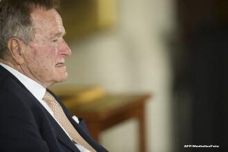 George Bush senior, la terapie intensivă la o zi după înmormântarea soției sale