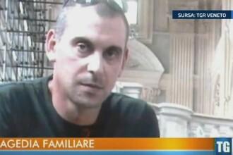 Scene terifiante in Italia. Un roman cu probleme psihice si-a atacat sotia si copiii in timp ce dormeau, apoi s-a sinucis