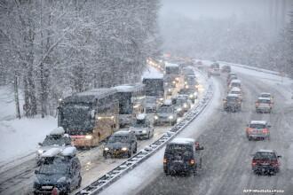 In ultimele zile ale anului 2014, Europa da piept cu iarna. Franta, Marea Britanie, Belgia si Cehia se lupta cu zapezile