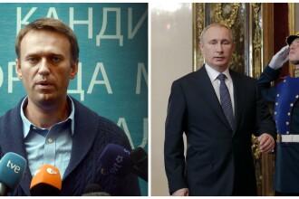 Alexei Navalnii, opozantul lui Putin, retinut de politie alaturi de peste 100 de sustinatori. VIDEO cu protestele din Moscova