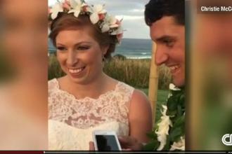 Surpriza imensa pe care au avut-o doi tineri chiar in ziua nuntii lor. Cine i-a sunat la telefon chiar in timpul ceremoniei