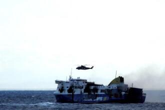 Romanca salvata de pe feribotul din Marea Ionica va ajunge in Italia miercuri dupa-amiaza