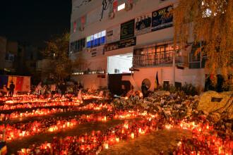 Victimele incendiului din Colectiv vor fi comemorate in fiecare luna, in data de 30, la locul tragediei