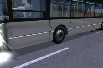 ANIMATIE GRAFICA. Misterul capacului de canal care s-a infipt intr-un autobuz RATB. O femeie a fost ranita la picior