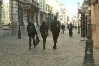 Transformarea centrului Capitalei, dupa ce legea care interzice activitatile in cladirile cu bulina rosie a intrat in vigoare