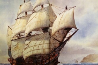 Epava corabiei spaniole cu o comoara de 1 miliard de lire la bord, gasita in Columbia. Presedintele a anuntat descoperirea