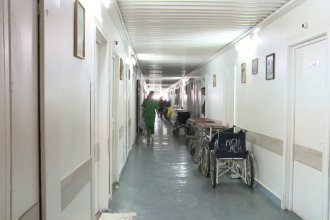 Spitalul in care lupta cea mai grea nu se da cu boala, ci cu bacteriile din salon. Autoritatile: