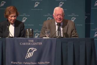 La 91 de ani, fostul presedinte american Jimmy Carter a anuntat ca s-a vindecat de cancerul la creier