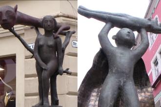 Controverse dupa amplasarea unor statui postmoderniste in centrul istoric al Timisoarei. Reactia localnicilor: