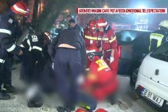 Misterul unei explozii urmate de incendiu intr-un bloc din Capitala. O femeie a murit dupa ce ar fi incercat sa se sinucida