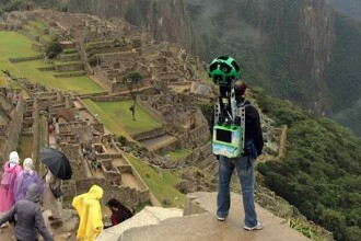VIDEO Ultimul proiect Google Street View - destinatia Machu Picchu