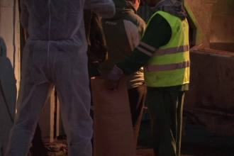 Descoperire macabra in judetul Neamt. O fetita a dat alarma, iar politistii au impanzit imediat zona