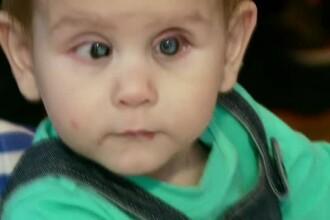 Cu un SMS puteti sa salvati un copil de orbire. Medicii au realizat prea tarziu ca Dragos s-a nascut cu retina dezlipita