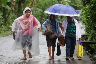 Vantul a atins 185 de km/h in Filipine, la venirea taifunului Melor. Peste 700.000 de oameni au fost evacuati. VIDEO
